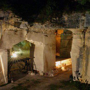 Grotte de champs retard soirée bourguignonne