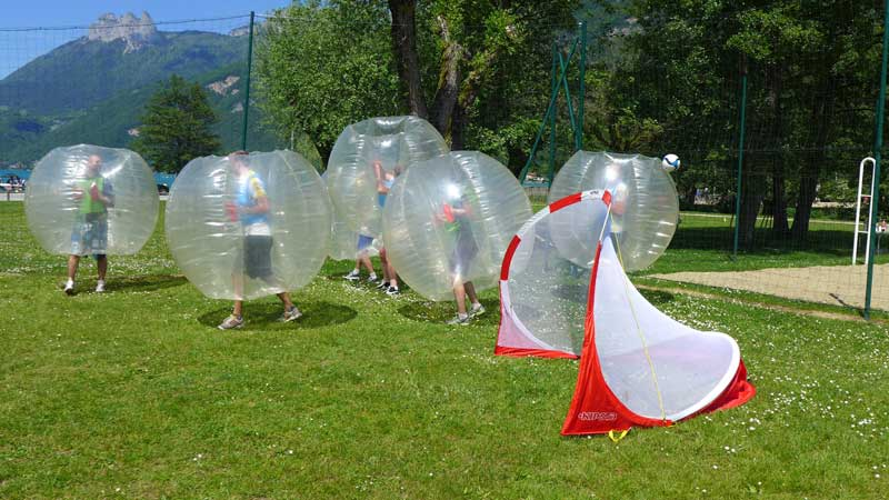 teambuilding dijon bubble foot