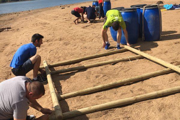 challenge radeau lac saint agnan