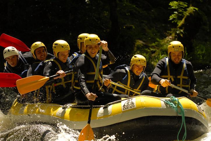 challenge rafting morvans