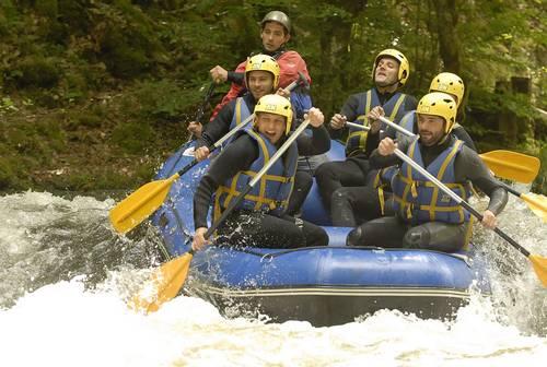 Challenge Rafting Morvan